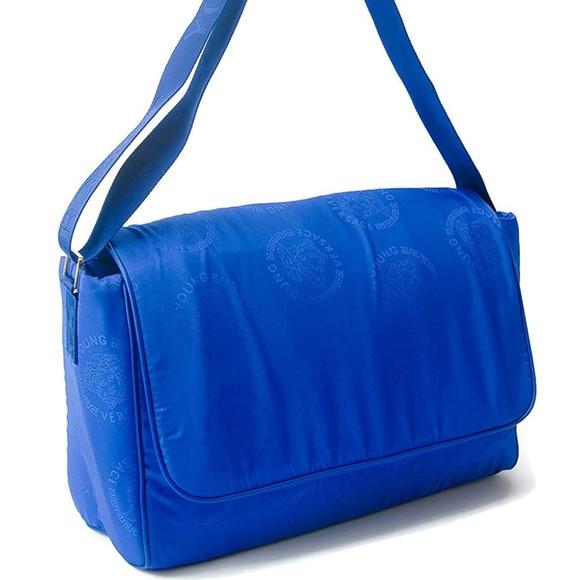 Versace Handbags - Young Versace Medusa Logo Diaper Messenger Bag